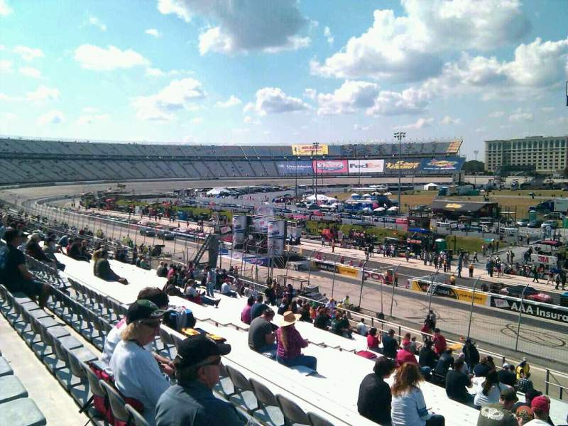 Seating view for Dover International Speedway Section 249 Row 30 Seat 9