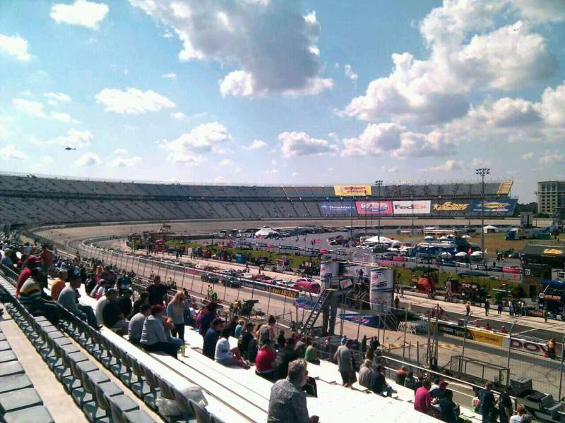 Seating view for Dover International Speedway Section 250 Row 30 Seat 9
