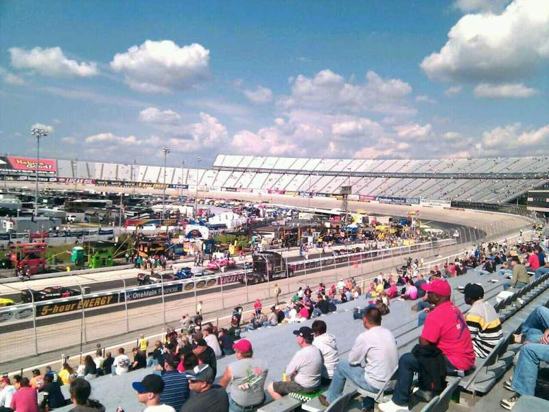 Seating view for Dover International Speedway Section 251 Row 30 Seat 9