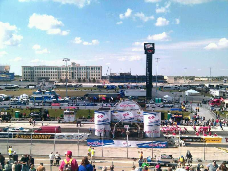 Seating view for Dover International Speedway Section 101 Row 30 Seat 9