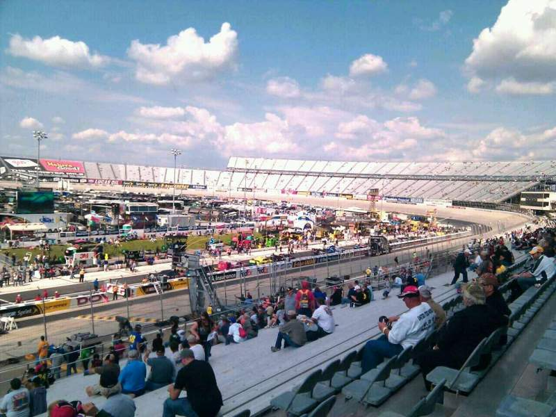 Seating view for Dover International Speedway Section 102 Row 30 Seat 9