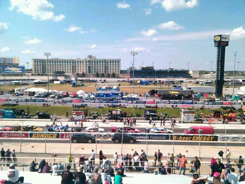 Seating view for Dover International Speedway Section 103 Row 30 Seat 9