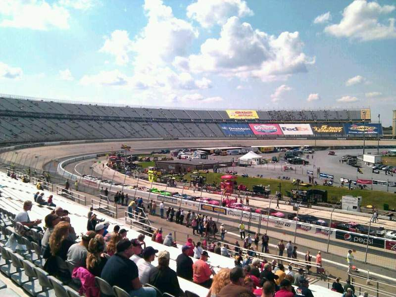 Seating view for Dover International Speedway Section 105 Row 30 Seat 9