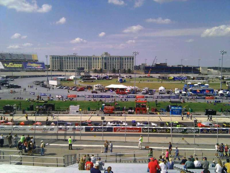 Seating view for Dover International Speedway Section 106 Row 30 Seat 9