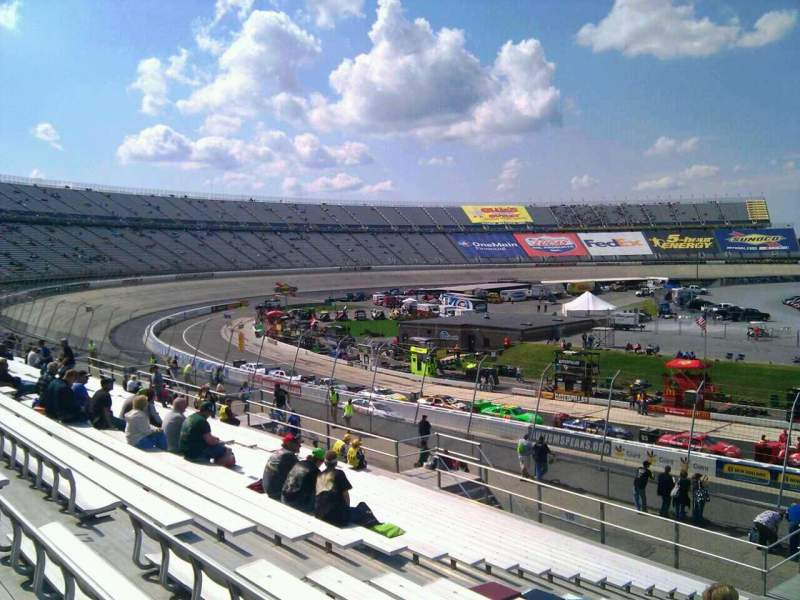 Seating view for Dover International Speedway Section 107 Row 30 Seat 9