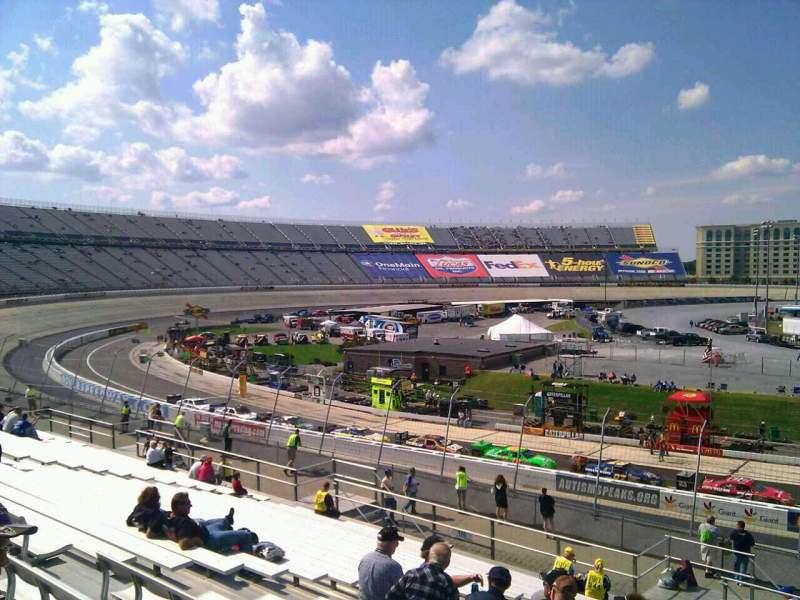 Seating view for Dover International Speedway Section 108 Row 30 Seat 9
