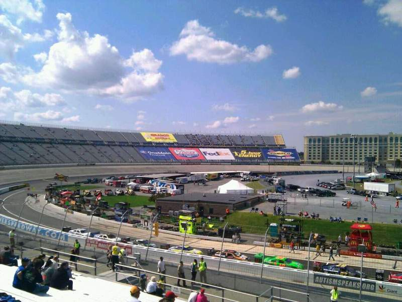 Seating view for Dover International Speedway Section 109 Row 30 Seat 9