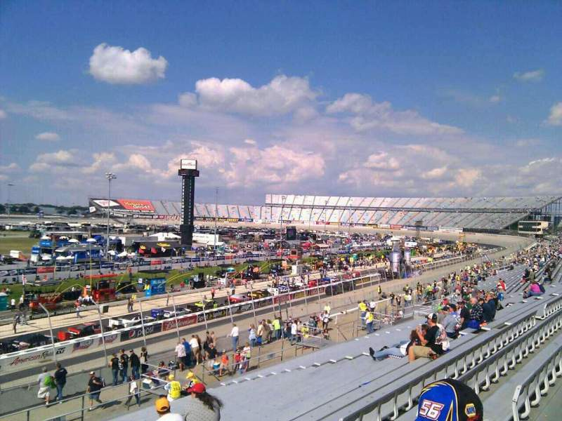 Seating view for Dover International Speedway Section 110 Row 30 Seat 9