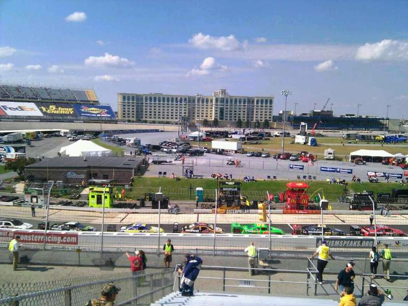 Seating view for Dover International Speedway Section 111 Row 30 Seat 9