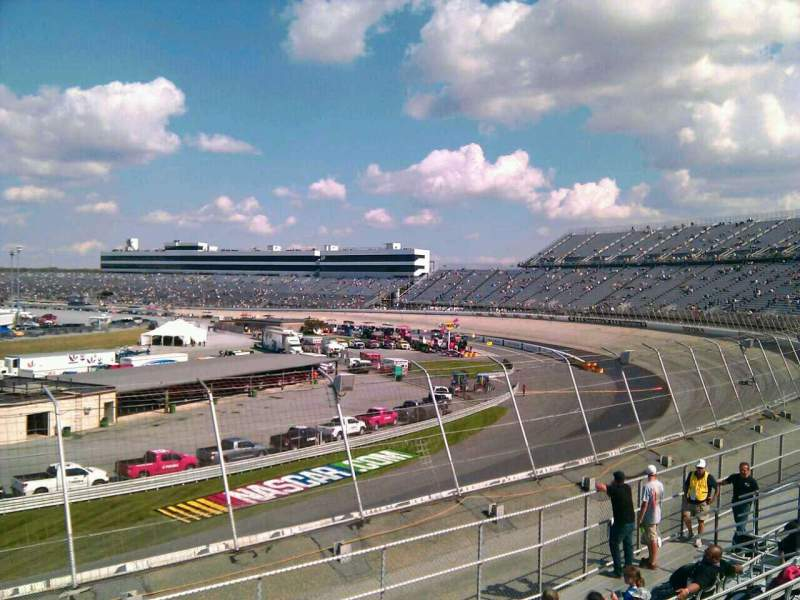 Seating view for Dover International Speedway Section 144 Row 14 Seat 9