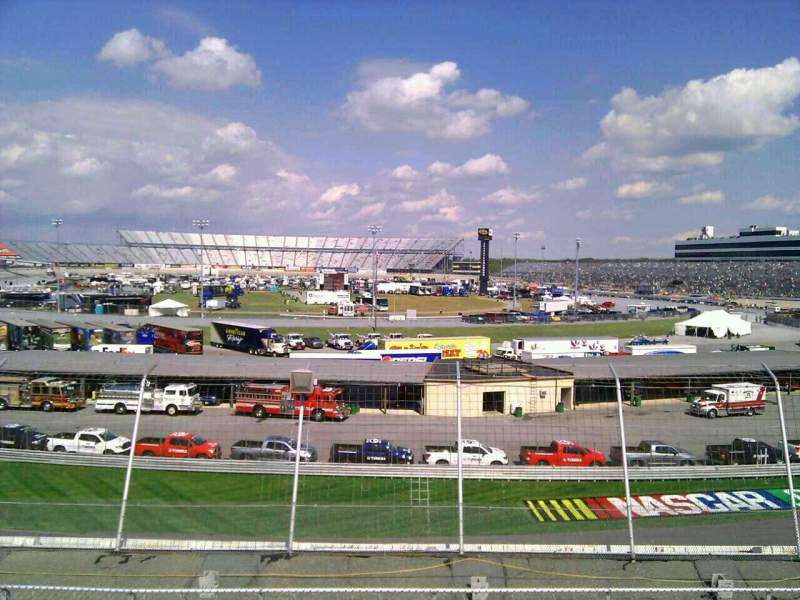 Seating view for Dover International Speedway Section 143 Row 30 Seat 9