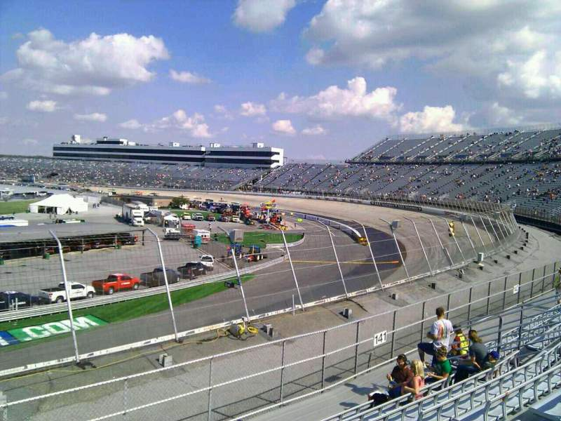 Seating view for Dover International Speedway Section 142 Row 14 Seat 9