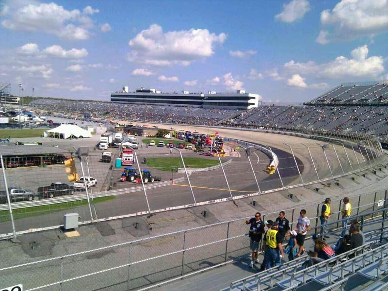 Seating view for Dover International Speedway Section 139 Row 14 Seat 9