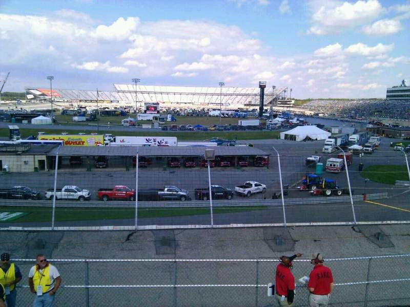 Seating view for Dover International Speedway Section 137 Row 14 Seat 9