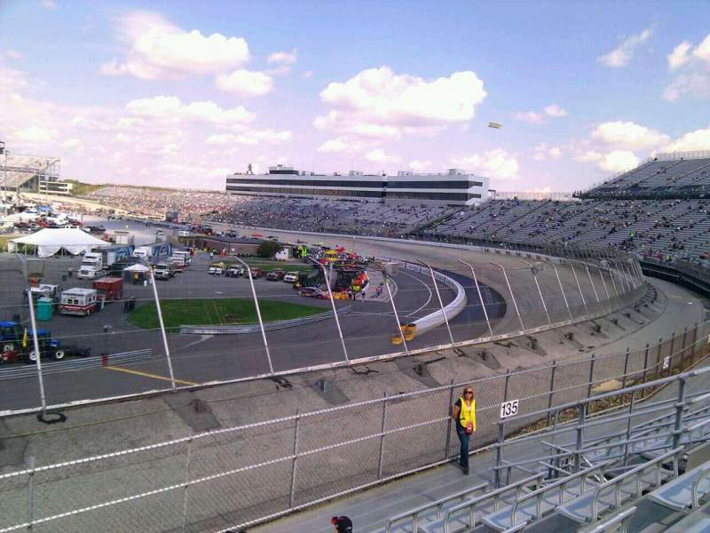 Seating view for Dover International Speedway Section 136 Row 14 Seat 9