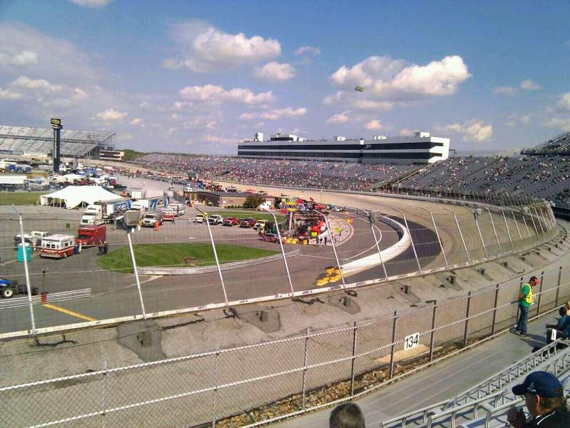 Seating view for Dover International Speedway Section 135 Row 14 Seat 9