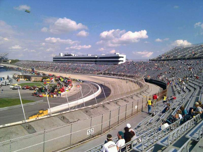 Seating view for Dover International Speedway Section 133 Row 14 Seat 9