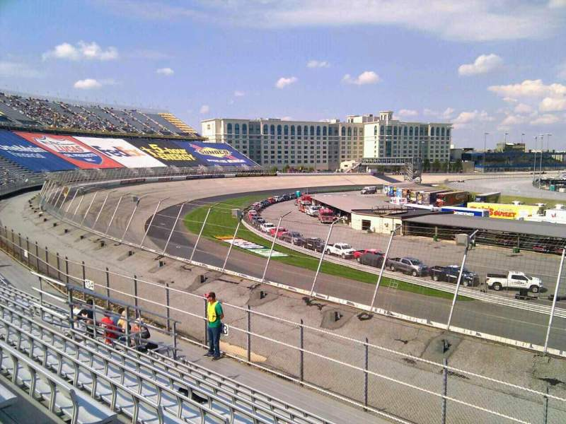 Seating view for Dover International Speedway Section 132 Row 14 Seat 9