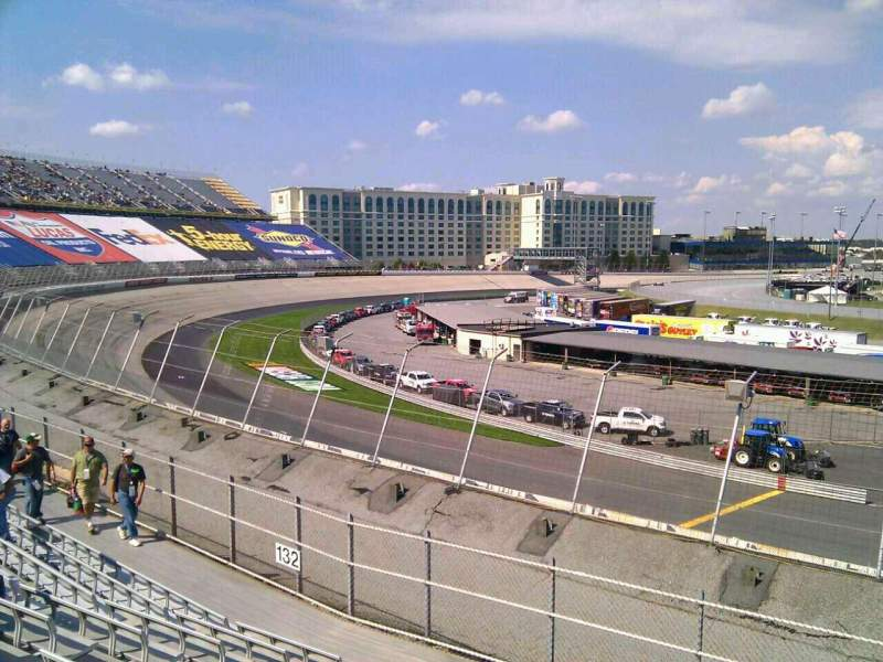 Seating view for Dover International Speedway Section 131 Row 14 Seat 9