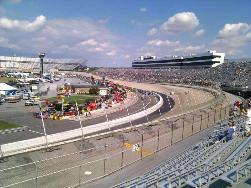 Seating view for Dover International Speedway Section 130 Row 14 Seat 9