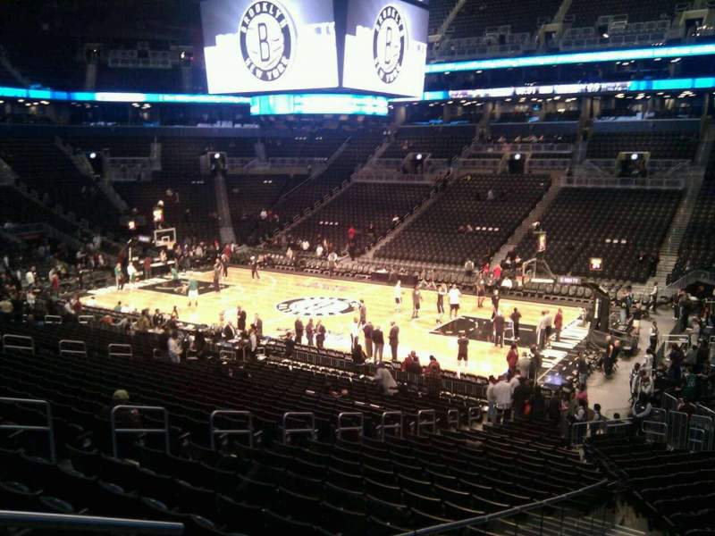 Seating view for Barclays Center Section 105 Row 4 Seat 15
