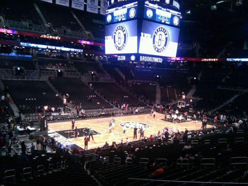 Seating view for Barclays Center Section 111 Row 5 Seat 16