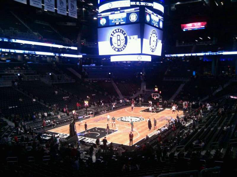 Seating view for Barclays Center Section 114 Row 5 Seat 2