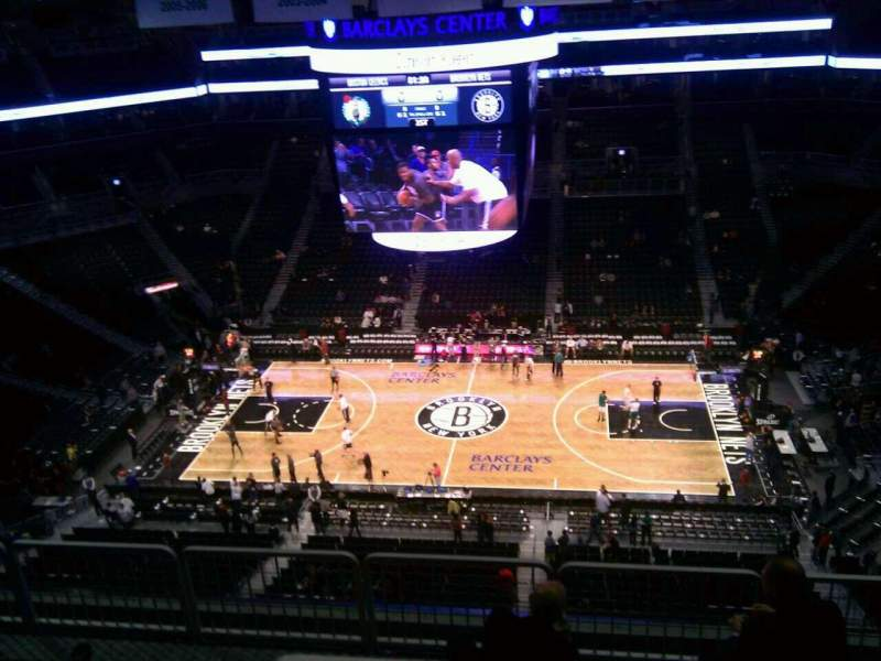 Seating view for Barclays Center Section 223 Row 7 Seat 9