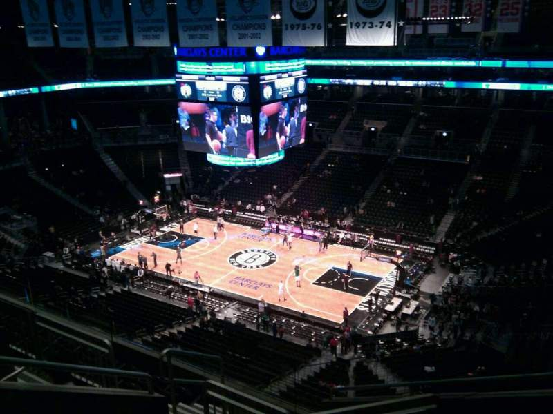 Seating view for Barclays Center Section 221 Row 7 Seat 5