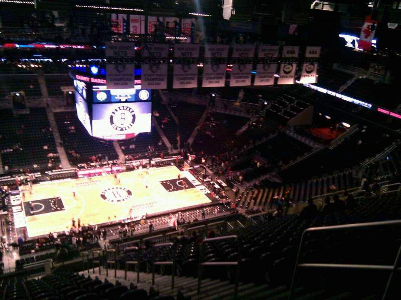 Seating view for Barclays Center Section 226 Row 22 Seat 5