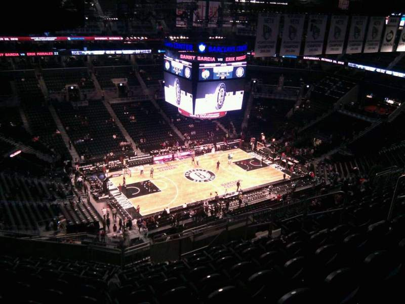Seating view for Barclays Center Section 227 Row 15 Seat 11