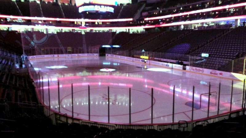 Seating view for Prudential Center Section 1 Row 13 Seat 9