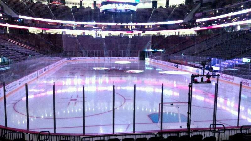 Seating view for Prudential Center Section 2 Row 10 Seat 9