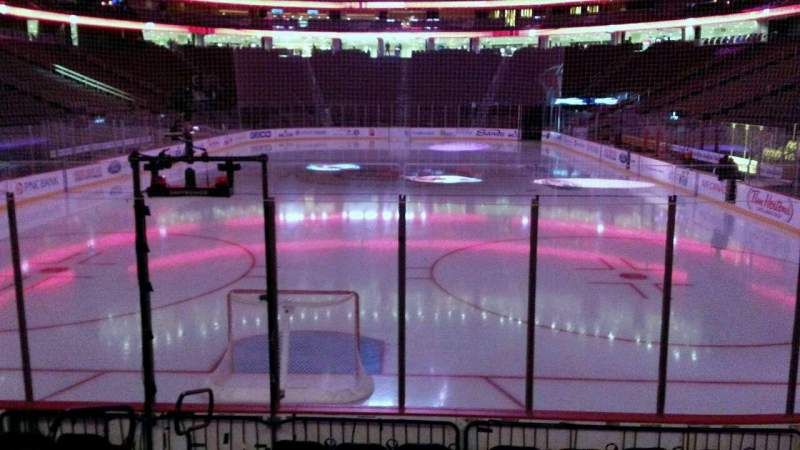 Seating view for Prudential Center Section 3 Row 8 Seat 10