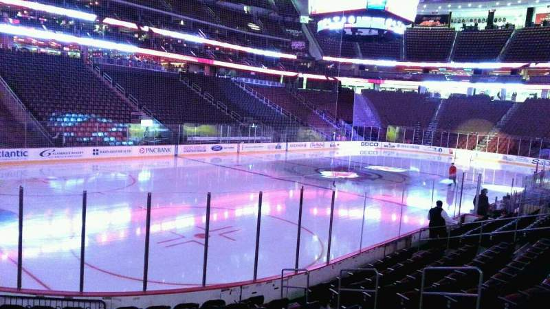 Seating view for Prudential Center Section 5 Row 11 Seat 16