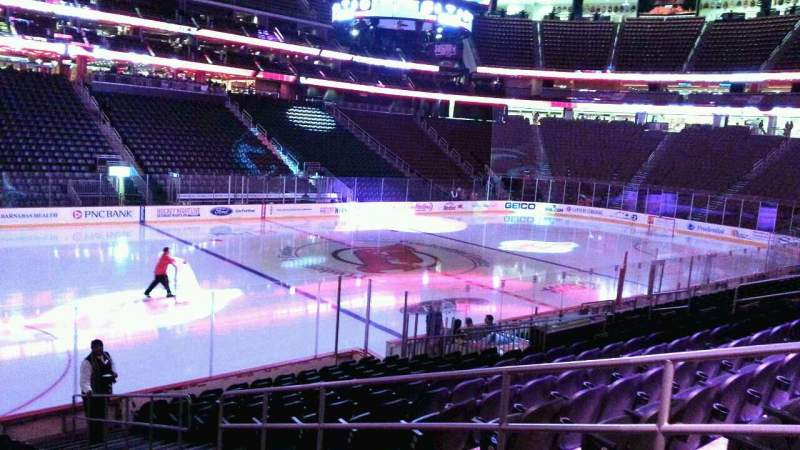 Seating view for Prudential Center Section 6 Row 14 Seat 4