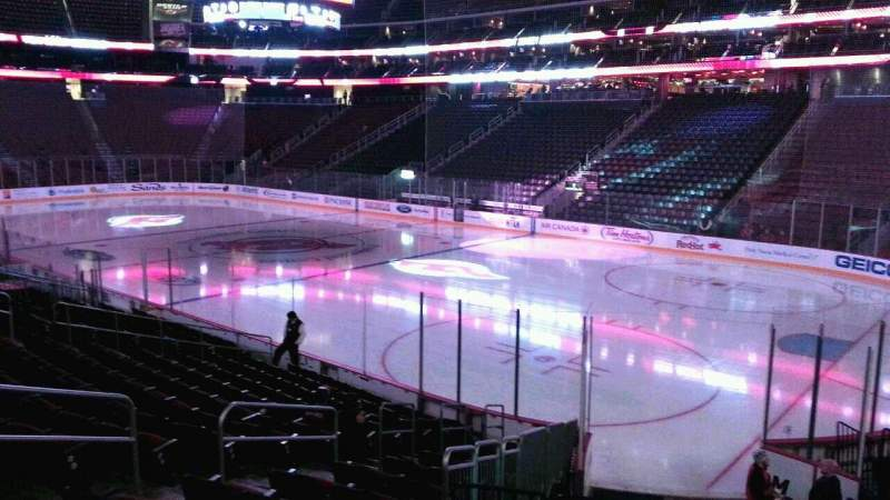 Seating view for Prudential Center Section 11 Row 15 Seat 12
