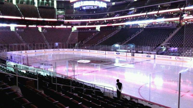 Seating view for Prudential Center Section 10 Row 11 Seat 2