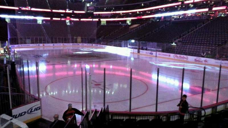 Seating view for Prudential Center Section 12 Row 10 Seat 12