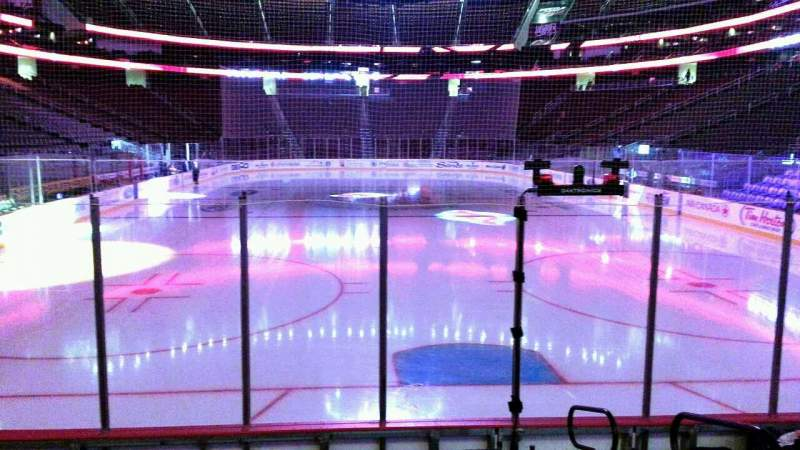 Seating view for Prudential Center Section 13 Row 7 Seat 3
