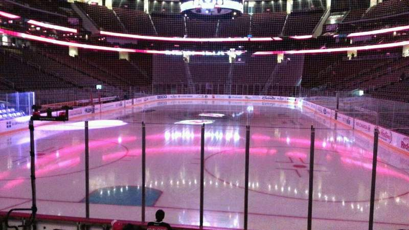 Seating view for Prudential Center Section 14 Row 8 Seat 6