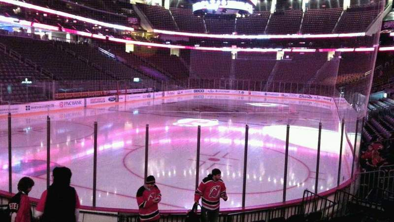 Seating view for Prudential Center Section 15 Row 9 Seat 7