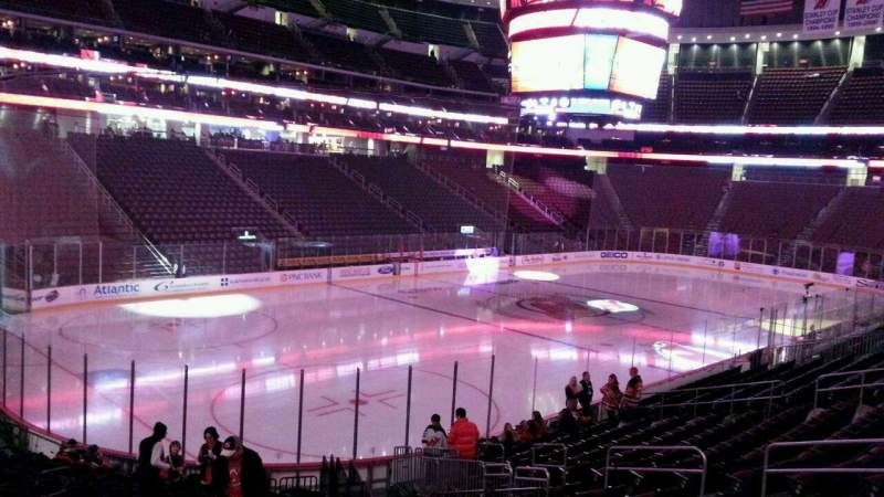 Seating view for Prudential Center Section 16 Row 18 Seat 15