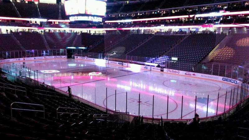 Seating view for Prudential Center Section 22 Row 20 Seat 8