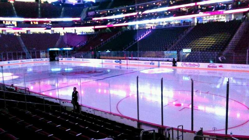 Seating view for Prudential Center Section 22 Row 10 Seat 12