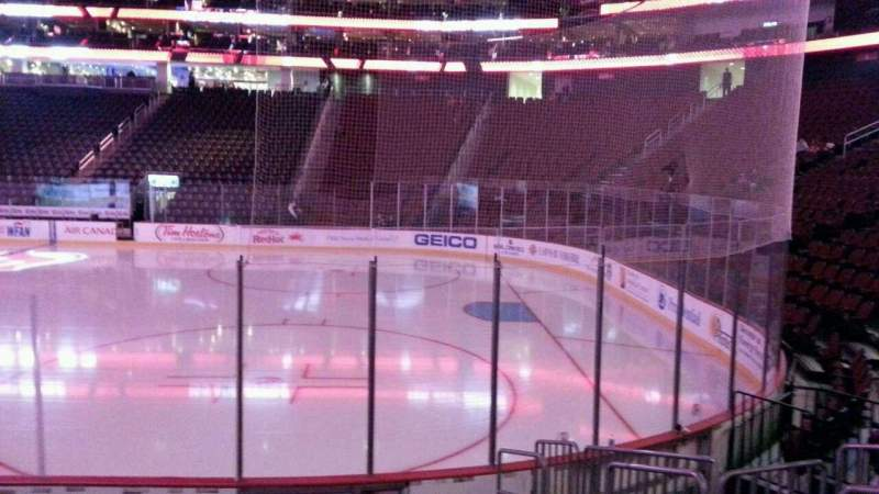 Seating view for Prudential Center Section 21 Row 8 Seat 4