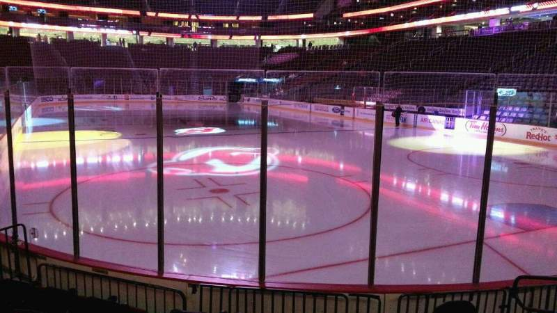 Seating view for Prudential Center Section 1 Row 6 Seat 5