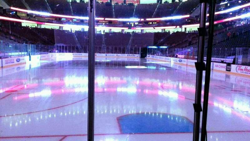 Seating view for Prudential Center Section 2 Row 3 Seat 3