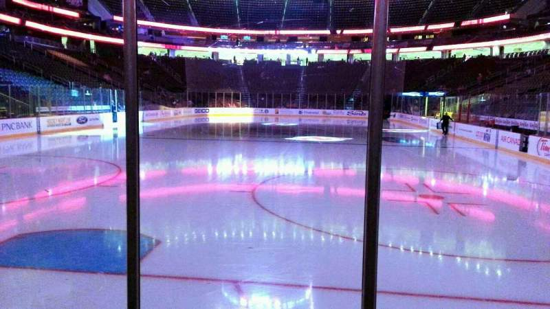 Prudential Center, section: 3, row: 3, seat: 5