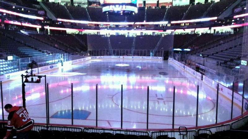 Seating view for Prudential Center Section 3 Row 11 Seat 6